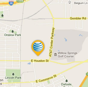 map local for att-center